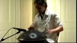 Странный инструмент Ханг. Красивая музыка