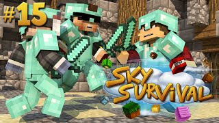 ARENA PVP PRONTA! - SKY SURVIVAL #15