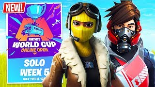 Fortnite Season 9 WORLD CUP QUALIFIER $1,000,000 Tournament! (Fortnite Battle Royale)