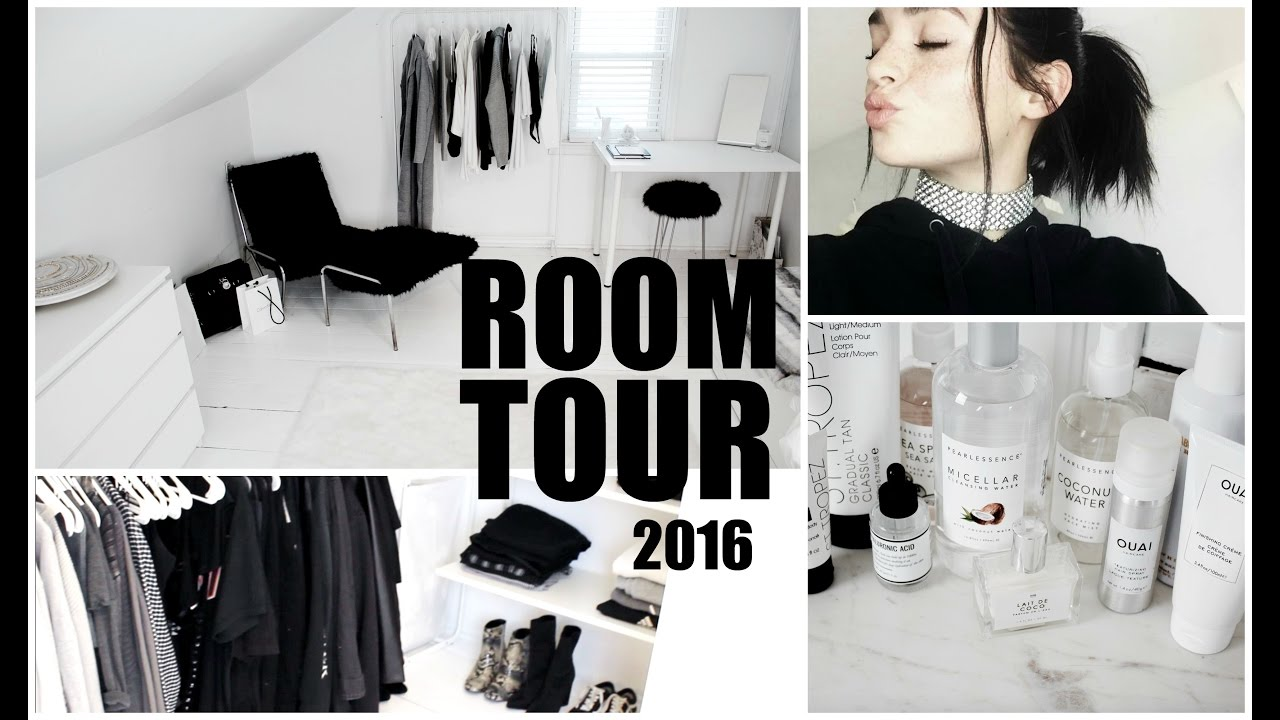 my room tour 2016 aesthetically pleasing youtube