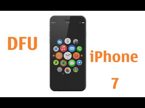 Iphone 7 Enter DFU Mode / Recovery / Restore firmware software mode