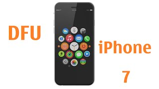 Iphone 7 Enter DFU Mode / Recovery / Restore firmware software mode