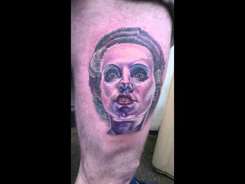 Bride of Frankenstien, Elsa Lanchester tattoo from last week