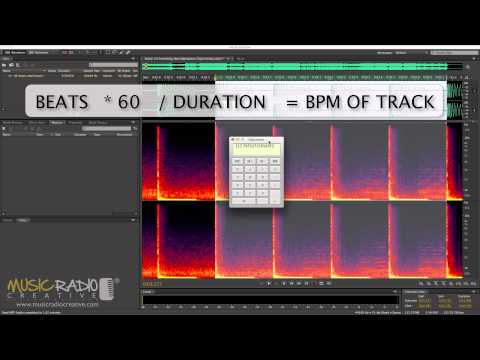How to Find the BPM of a Song in Adobe Audition