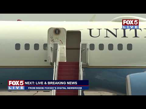 FOX 5 LIVE (8/17): Pres. Trump lands in Westhampton Beach, N.Y.; today's top stories from digital