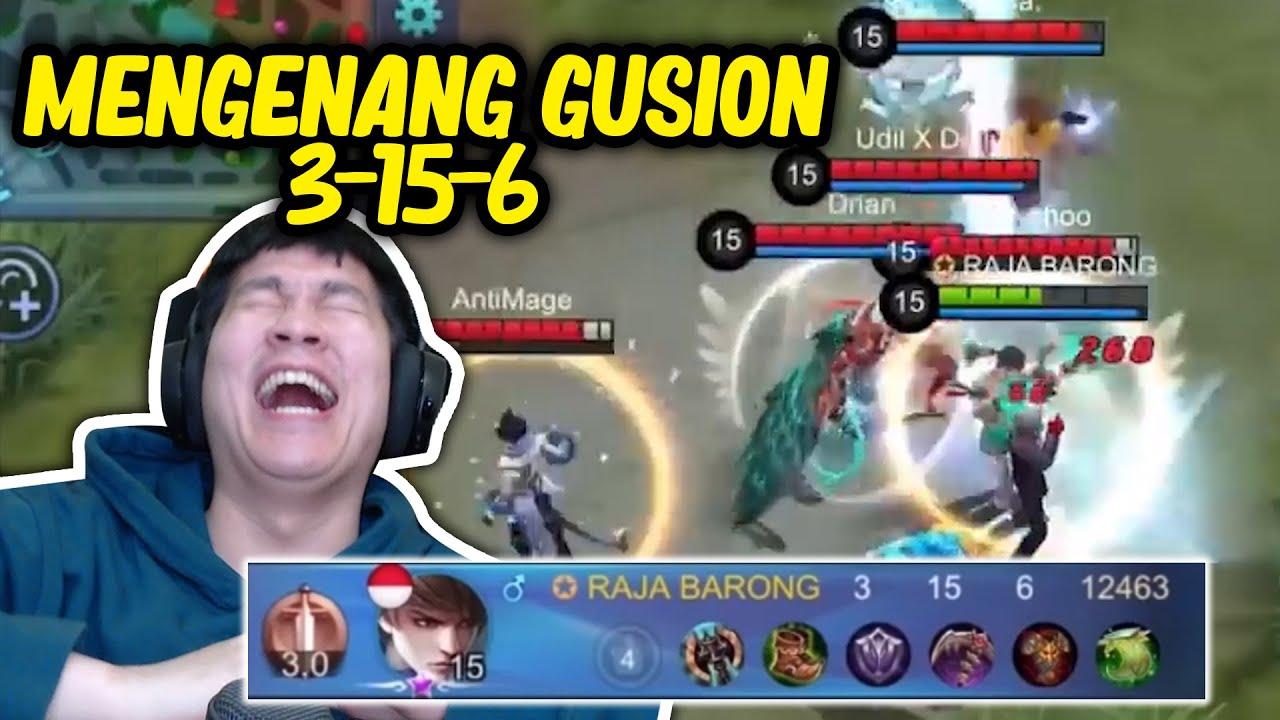 Download Mengenang 1 Tahunnya Gusion 3-15-6 Seorang Emperor - Mobile Legends