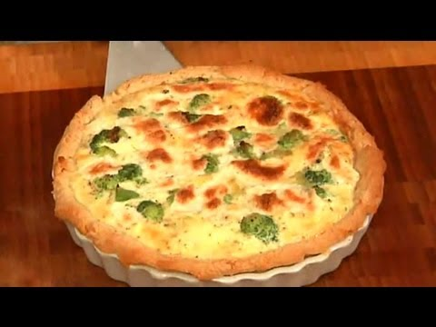 Quiche Recipes with Cheese, Onion, Egg & Broccoli : Easy Rec