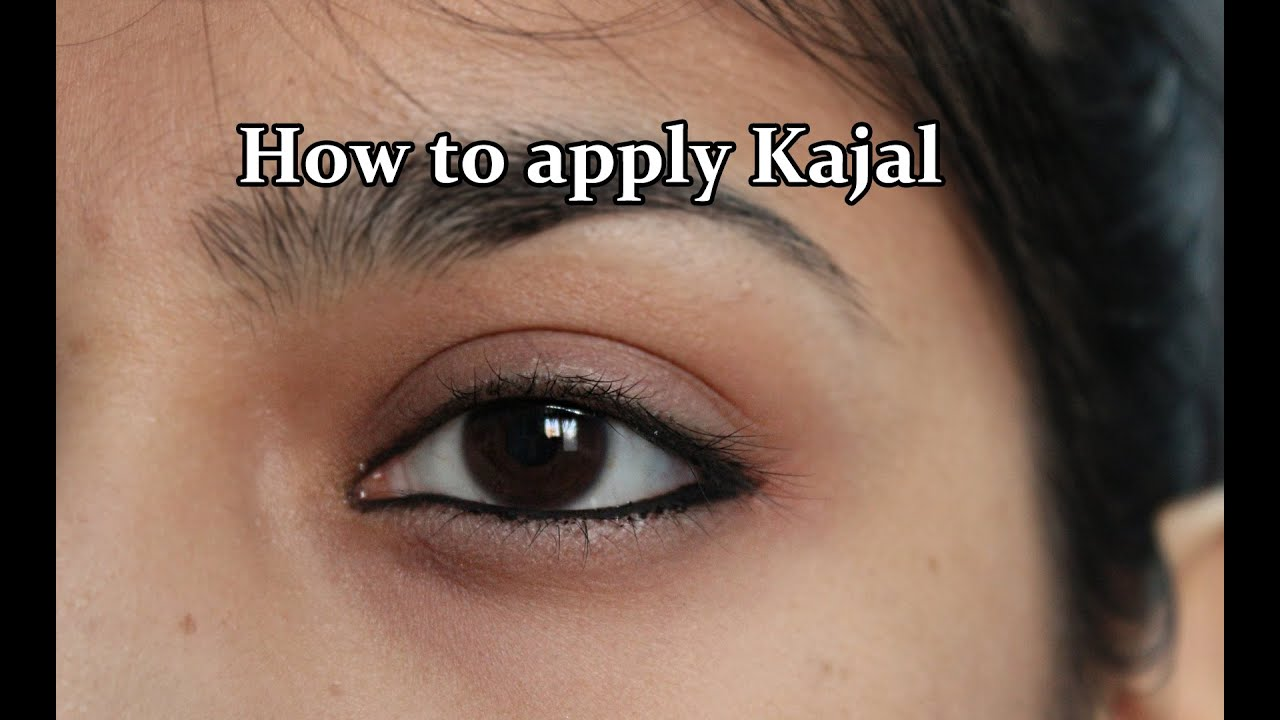 How to apply kajal #OFT10D