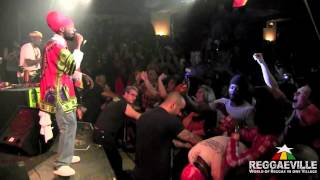 Sizzla - Woman I Need You / Thank You Mama in Vienna, Austria 3/26/2012