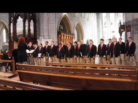 Boston College High School Choir Performs at Saint Mary's Cathedral in Kilkenny, Ireland