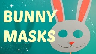 Arts & Crafts! Making FUN with Bunny Masks