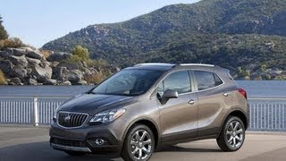 2013 Buick Encore Start Up and Review 1.4 L 4-Cylinder Turbo