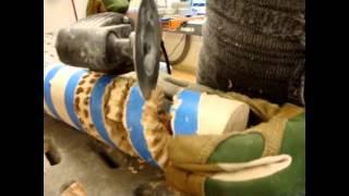Spiral Lamp Fabrication