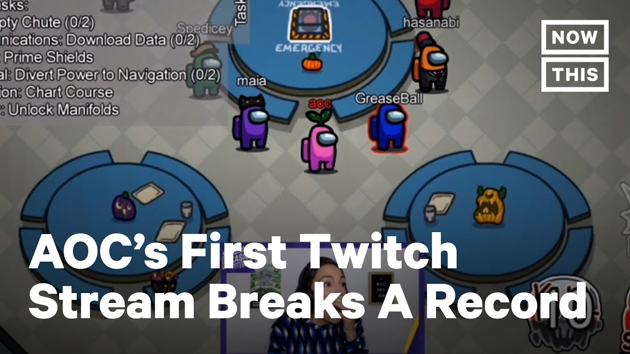 Aoc Twitch Stream Becomes One Of The Highest Watched Ever Nowthis Youtube