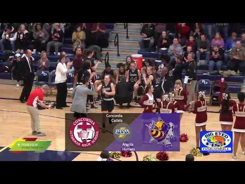 Concordia vs Angola | IHSAA Sectional Girls Basketball