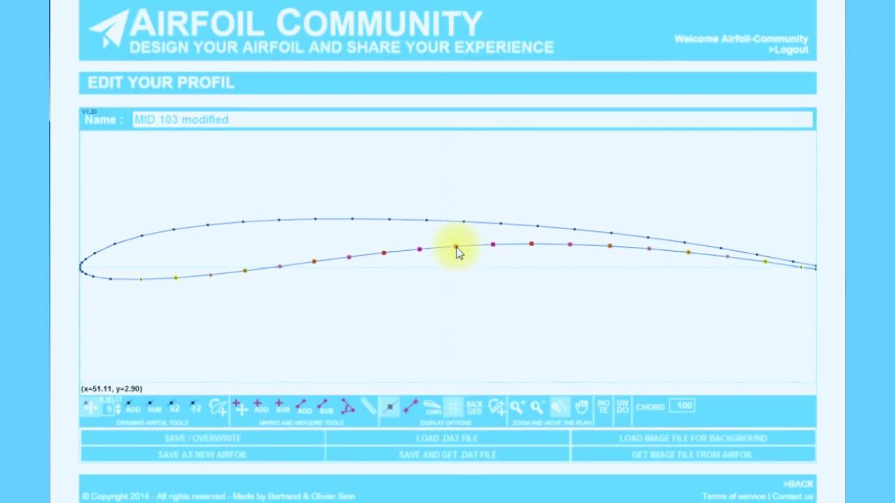 4-How to create an airfoil from a  dat file