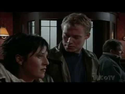 EastEnders - Kat Slater Bites Garry Hobbs On The Lips (13th November 2000)
