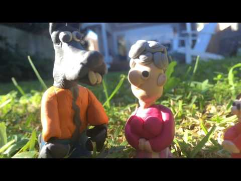 Little Red Riding Hood Stop Motion Animation