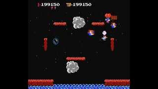 NES Longplay [195] Balloon Fight