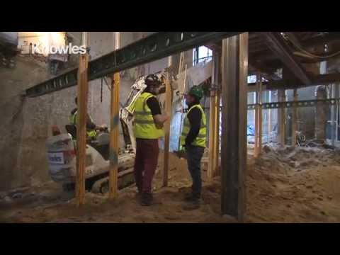 Shell and Superstructure Construction Video - London