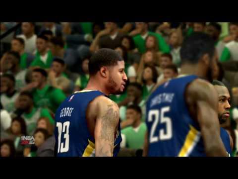 NBA 2k16 - Boston Celtics vs Indiana Pacers - PS3 Live Game Play
