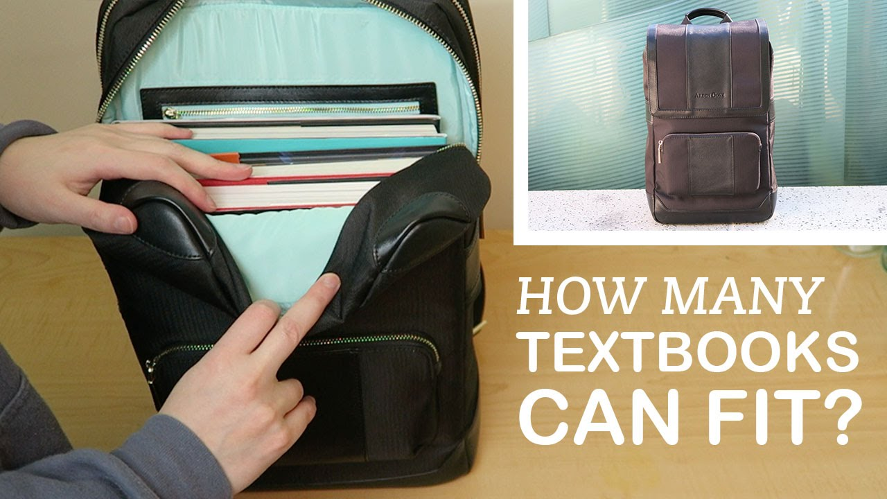 6ef51290b How Many Textbooks Can Fit in the Daily Laptop Backpack? | Arden Cove