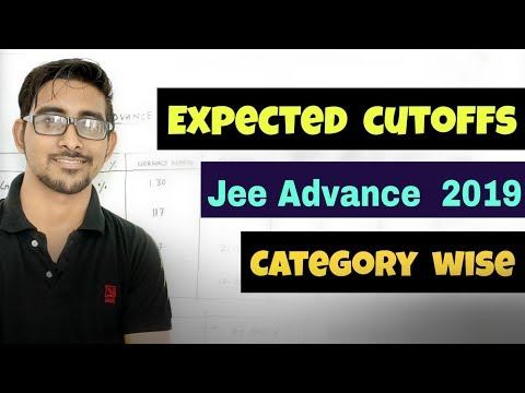 Jee advance 2019 Expected cutoffs category wise & Analysis |  Answer key +  subject wise cutoff