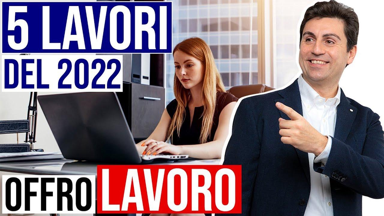 Download I 5 LAVORI più RICHIESTI nel 2021   OFFRO LAVORO!