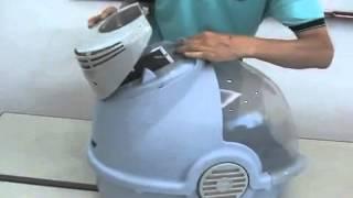 OSTER кошачий туалет с фильтром (220 Вт)