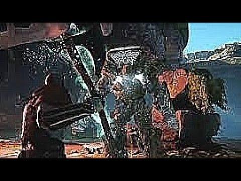 God of War 4 - Stone Ancient Boss Fight