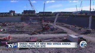 Sneak peek at new Detroit Red Wings arena