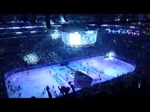 Los Angeles Kings 2014 Stanley Cup Playoffs Intro + Starting Lineups (WCQF - Game 3)