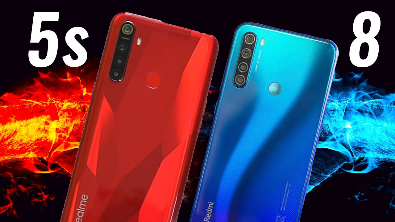 Realme 5s vs Redmi Note 8 Full Comparison - BEST under 10K?