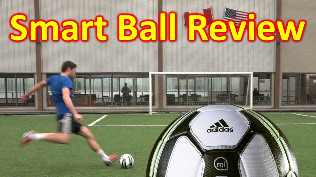 32044e22e adidas miCoach SMART BALL Review - YouTube