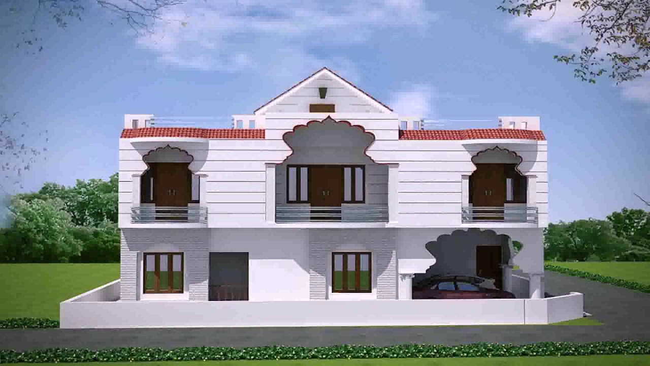 House Front Design Indian Village Style