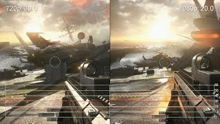 Battlefield 4: Kaveri A8-7600 720p vs. 1080p Medium Settings Frame-Rate Tests