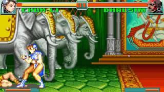 Street Fighter 2 Turbo Revival - Pra Cima Deles Chun-Li