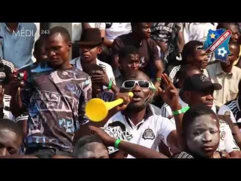 TP Mazembe - Ambiance à Kamalondo avec les supporters