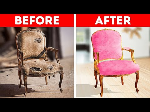 New Life For Old Chair || Huge Craft Projects