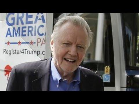 Jon Voight talks pro-Trump super PAC's 'VIP' bus tour