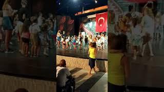 Gold City Tourism Complex 5* Children's animation. Детская дискотека в отели Gold City Алания-Турция