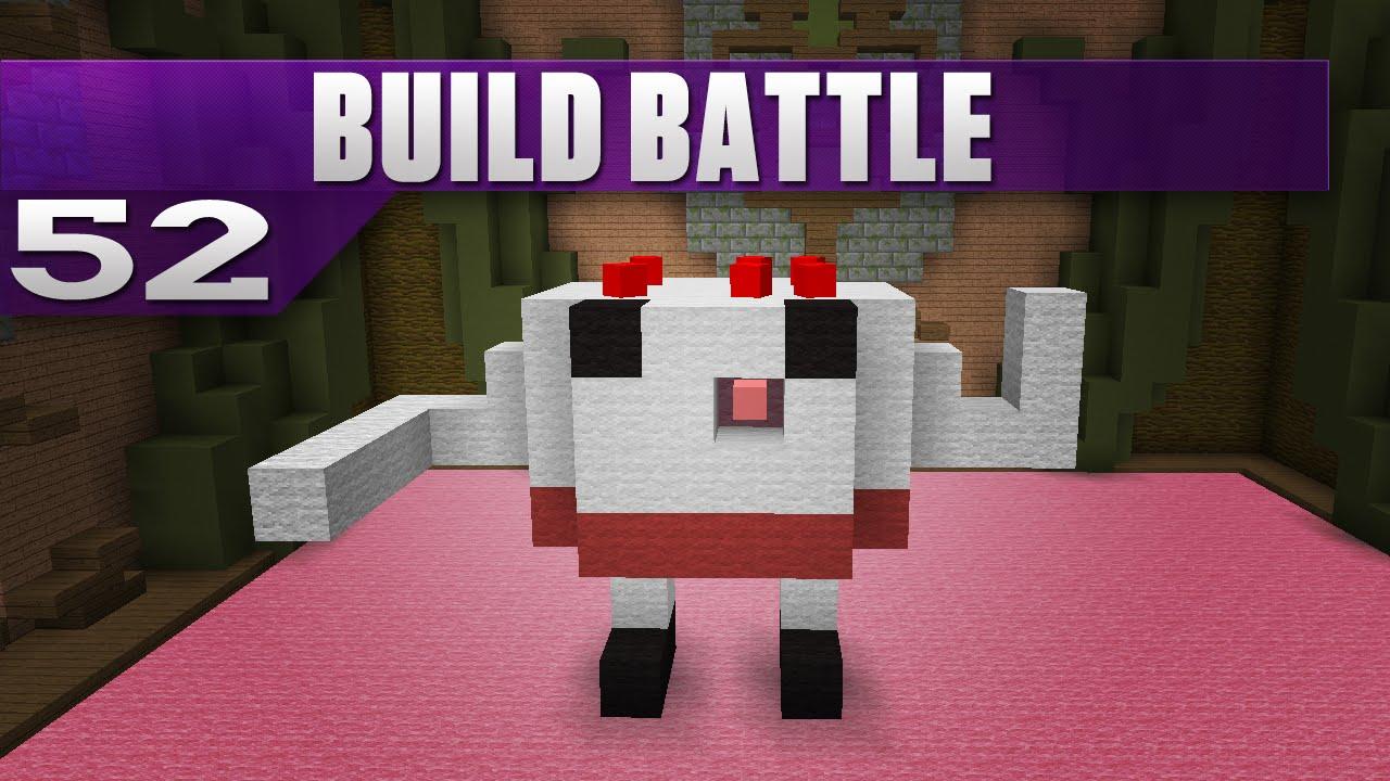 Minecraft Build Battle 52 Cake Wars YouTube