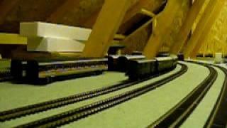 Hinchley Wood Model Railway Video 03
