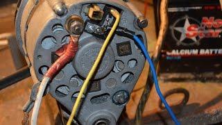 Проверка работы генератора с трёхуровневым реле.