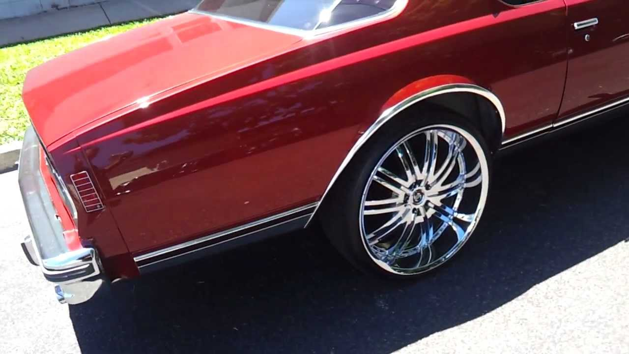 1979 2dr Chevy Caprice on 24s (Super Clean) - YouTube