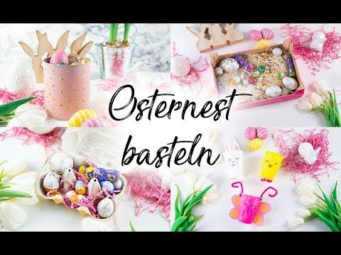 Osternest Basteln 4 Einfache Upcycling Ideen Mama Kreativ
