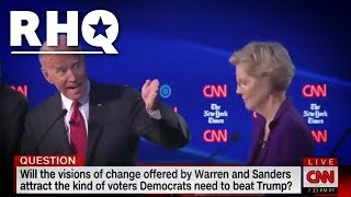 Biden Shouts At Elizabeth Warren, Takes Credit For Her Signature Achievement