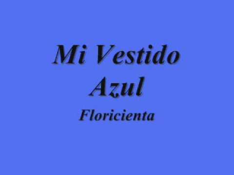 Letra cancion mi vestido azul florencia bertotti