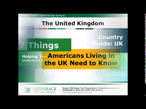 US Expat Taxes: Filing as an American Living in the UK
