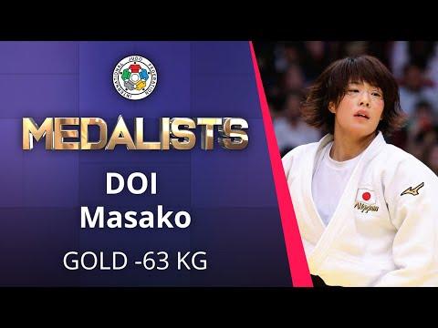 DOI Masako Gold medal Judo Osaka Grand Slam 2019